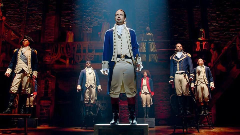 Celebrate The 4th At Home With 'Hamilton' On The Biggest Screen Possible