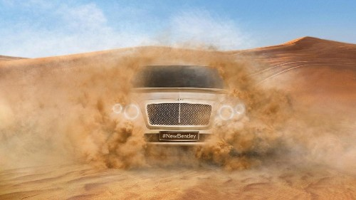 2016 Bentley SUV Won't Have an Ugly Mug After All