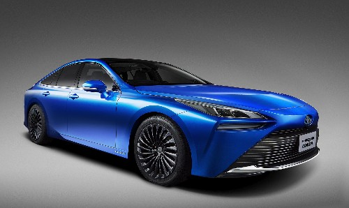 Revamped Toyota Mirai Hydrogen Fuel Cell Sedan Arrives In Late 2020, Now With Style