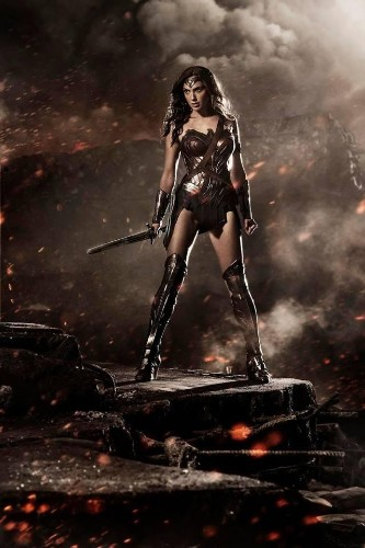 First Footage Of 'Batman V Superman' And Wonder Woman Costume Unveiled At Comic Con