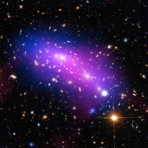This Is How Galaxy Cluster Collisions Prove The Existence Of Dark Matter
