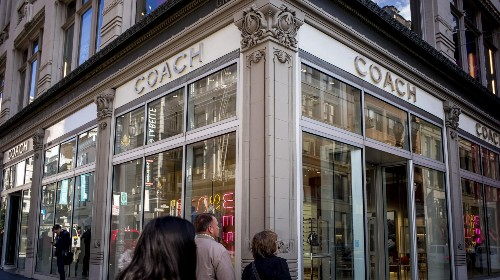 Coach Sales Are Still Tanking, But Stock Rises On Earnings Beat