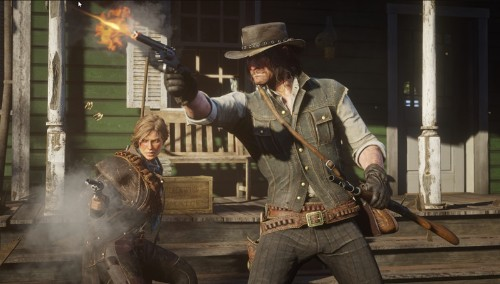 The Xbox One X Reaches New Heights In 'Red Dead Redemption II' Console Comparison