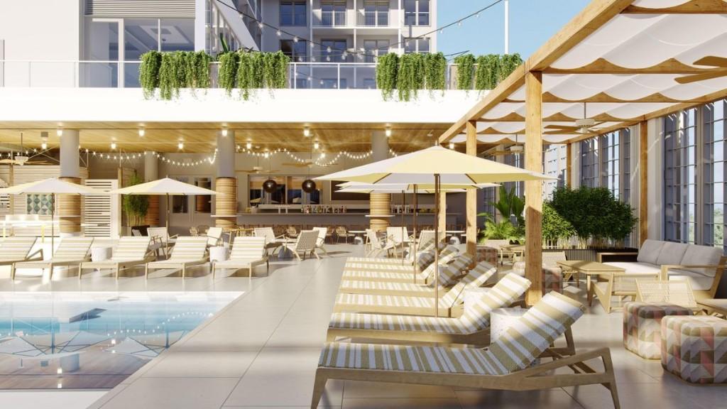 The Rockaway Hotel To Open at New York's Rockaway Beach