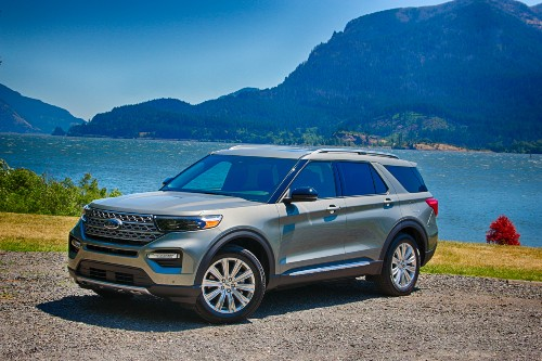 2020 Ford Explorer Hybrid Rated At 28 MPG Rear Drive, 25 MPG 4WD