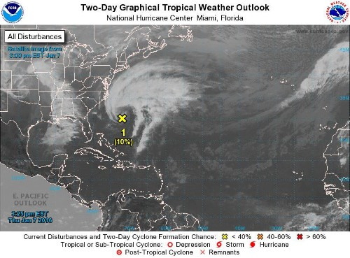 Could We Have The First Named Atlantic Tropical System Of 2016 In January?