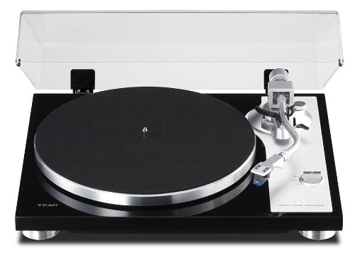 TEAC Reveals A New Slimline Direct-Drive Turntable With Knife-Edge Tonearm Bearings