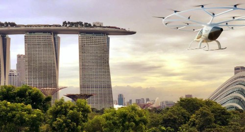 Pilotless Electric Flying Taxis Are Coming To Singapore