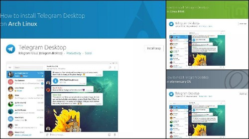Canonical's Linux Snap Store Adds 11 Distro-Specific Installation Pages For Every App