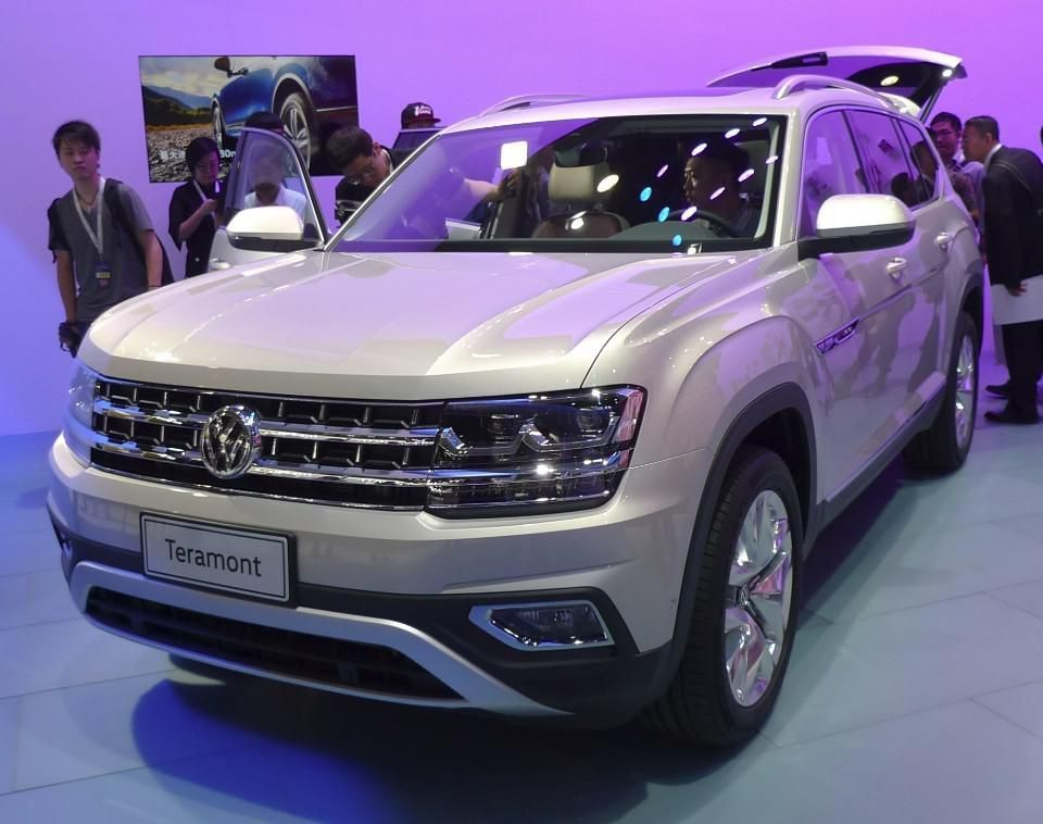 Volkswagen Teramont SUV Launched At The Guangzhou Auto Show In China