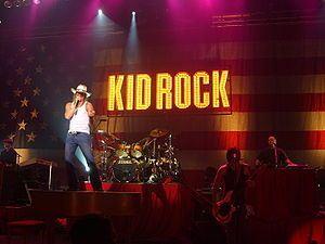Kid Rock - Magazine cover