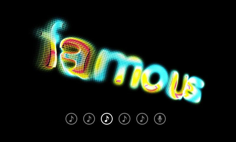 Famo.us Magazine - cover