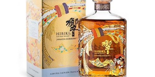 Suntory is Launching a Limited-Edition Hibiki Japanese Harmony Bottle for the Holidays