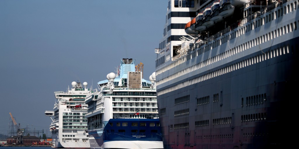 The perfect storm: What do you do with cruise ships that cannot set sail?