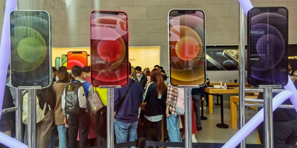 Apple suspended new business for one of its iPhone suppliers