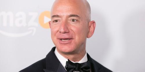 Jeff Bezos Displaces Warren Buffett as the World's Second Richest Person