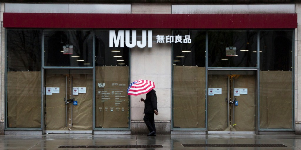 Muji U.S. joins the growing list of companies filing for bankruptcy during the coronavirus pandemic