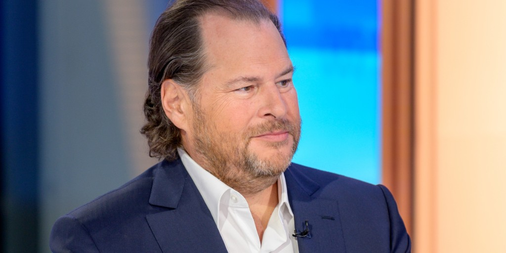 Salesforce CEO Marc Benioff describes what office life will be like after COVID-19