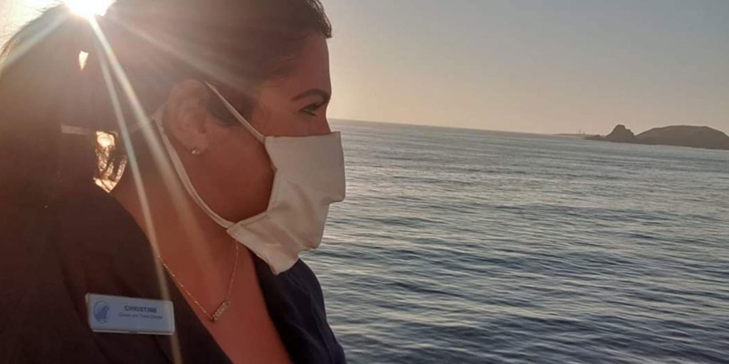 'I literally was locked up abroad': The diary of a cruise director during the coronavirus pandemic
