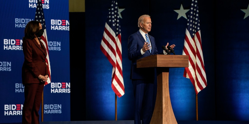 Biden one state away from victory after winning Michigan and Wisconsin