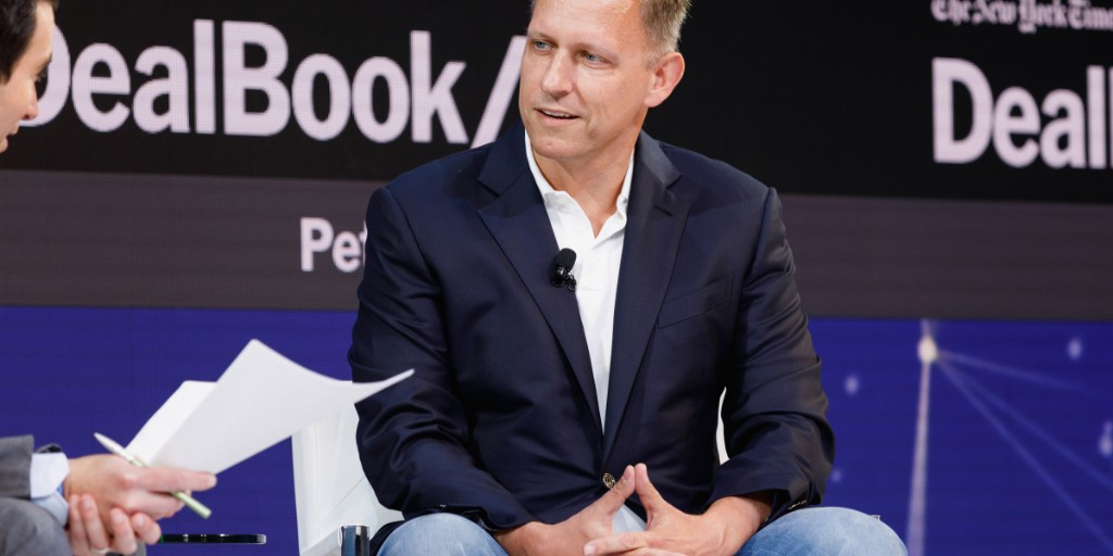 Peter Thiel Thinks Silicon Valley's Heyday Is Over