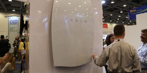 Tesla batteries to power office buildings in California