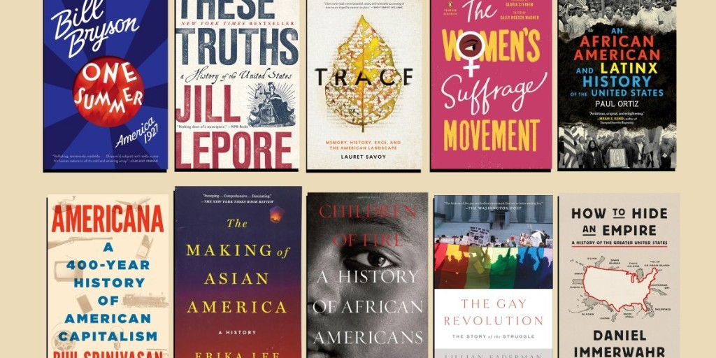 10 books on American history that actually reflect the United States