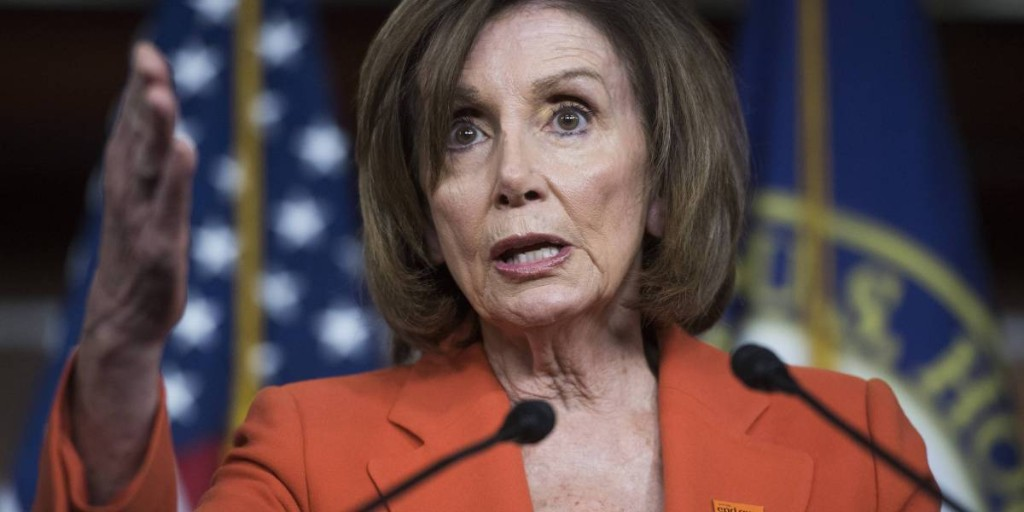 I Don't Want to See Trump Impeached, I Want to See Him in Prison, Pelosi Reportedly Tells Democrats