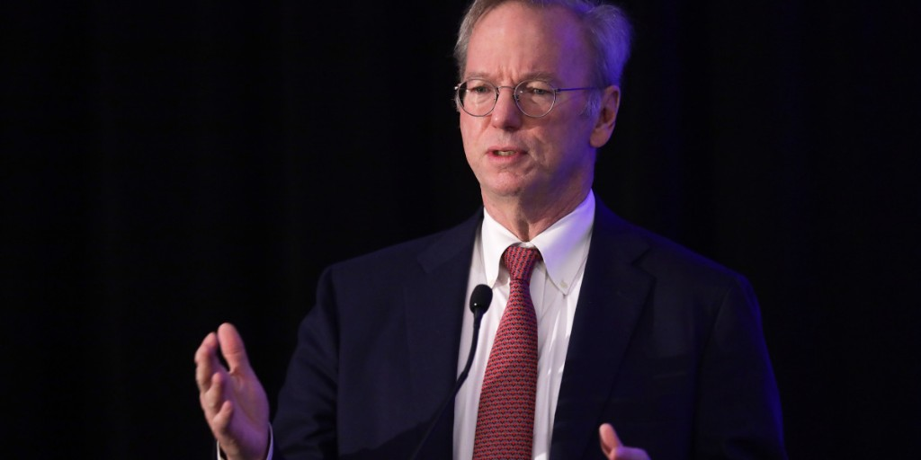 Former Google CEO: The coronavirus pandemic will make big tech even bigger