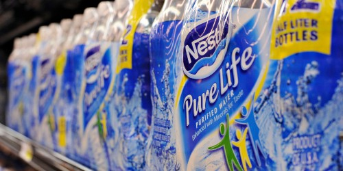 That Bottled Water You're Drinking May Contain Tiny Particles of Plastic