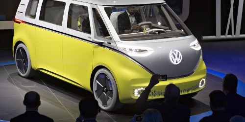 Volkswagen Will Revive Its Iconic Microbus, and It's Going to Be Electric