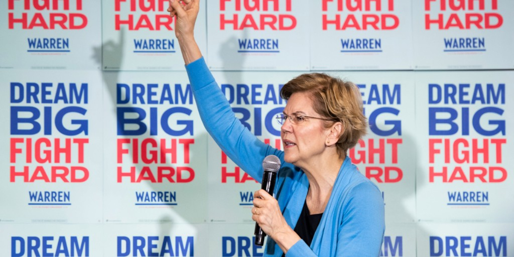 Warren persists. Will Super Tuesday be her big break—or will it break her campaign?
