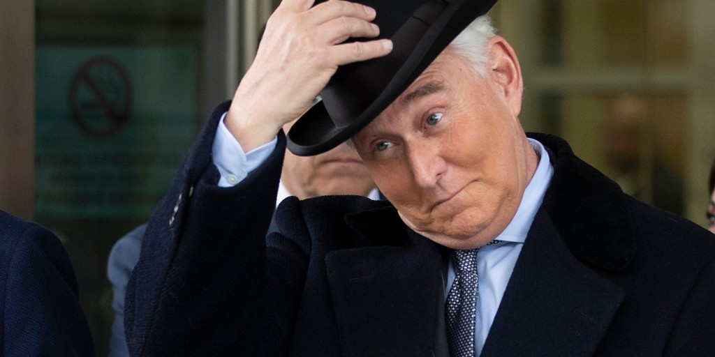 Facebook removes fake accounts linked to Trump ally Roger Stone
