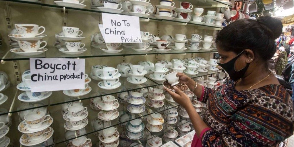 How India's 'Made in China' boycott could backfire