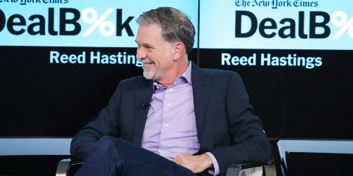 The CEO of Netflix Is Making a Huge Donation to Education