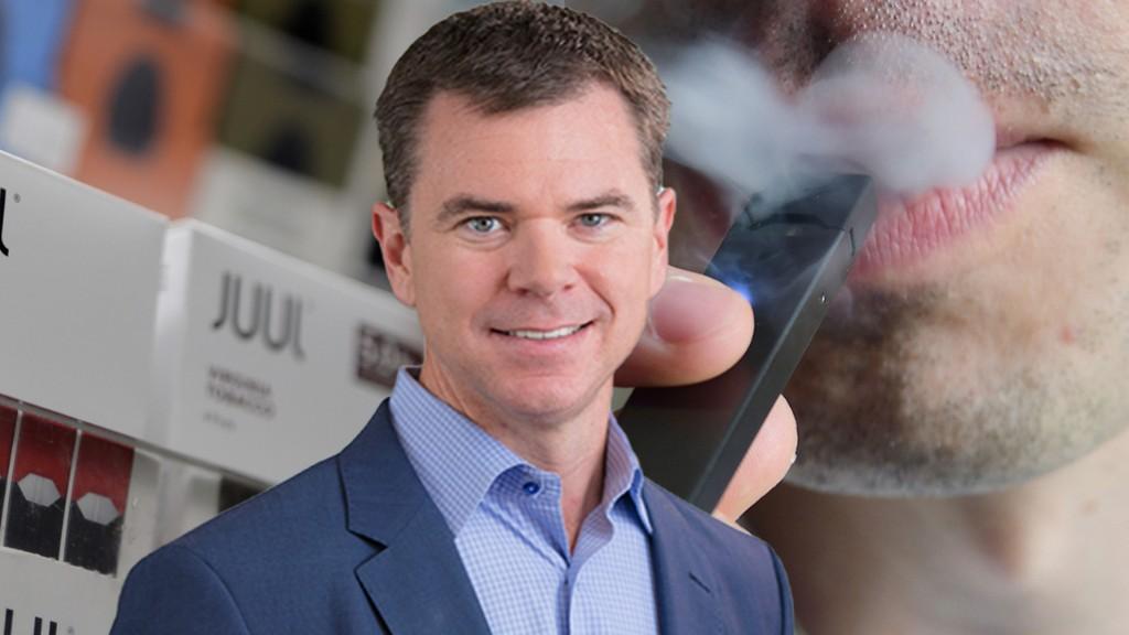 Who is e-cigarette maker Juul's new CEO?