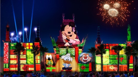 Disney World Kicks Off the Holidays With a Bam