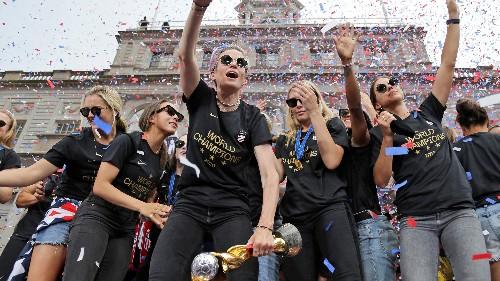 Secret deodorant donates $529G to US women's soccer team to close gender pay gap