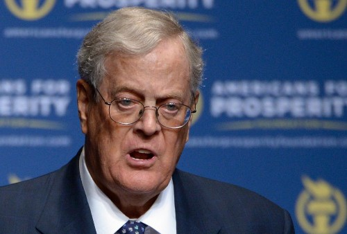 Trump, Koch Brothers at Odds Over 'Trumpcare' Vote