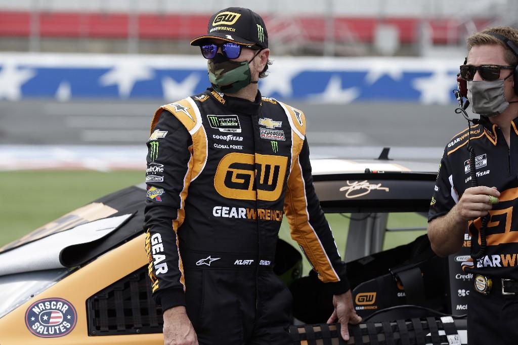 Kurt Busch on the pole for NASCAR's longest race of the season