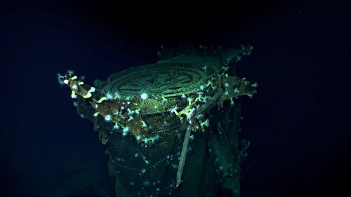 Wreck of Japanese aircraft carrier sunk in Battle of Midway discovered 77 years later