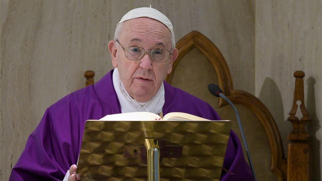 Pope asks Christians to recite Lord's Prayer amid coronavirus pandemic