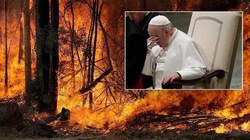Pope Francis asks everyone to pray for Australia amid devastating fires