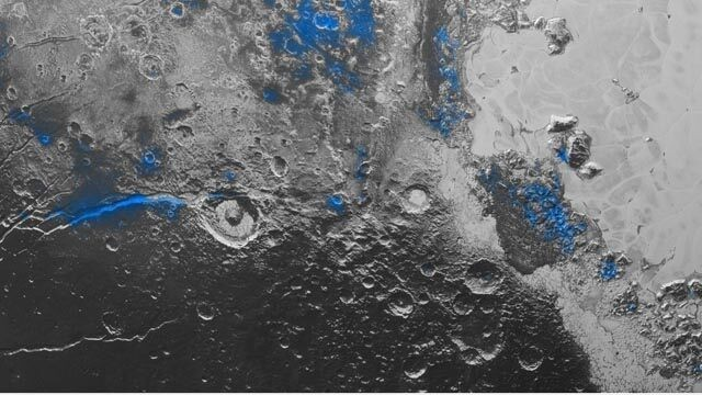NASA spacecraft discovers blue sky, red ice on Pluto