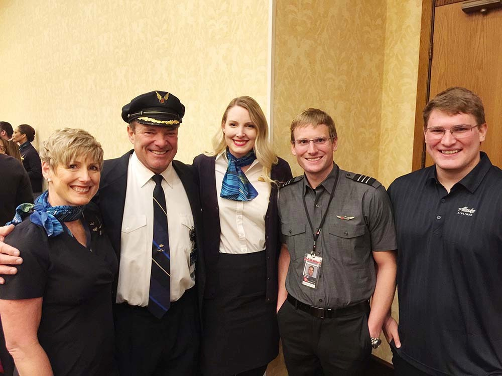Parents retire early from Alaska Airlines to protect kids' jobs