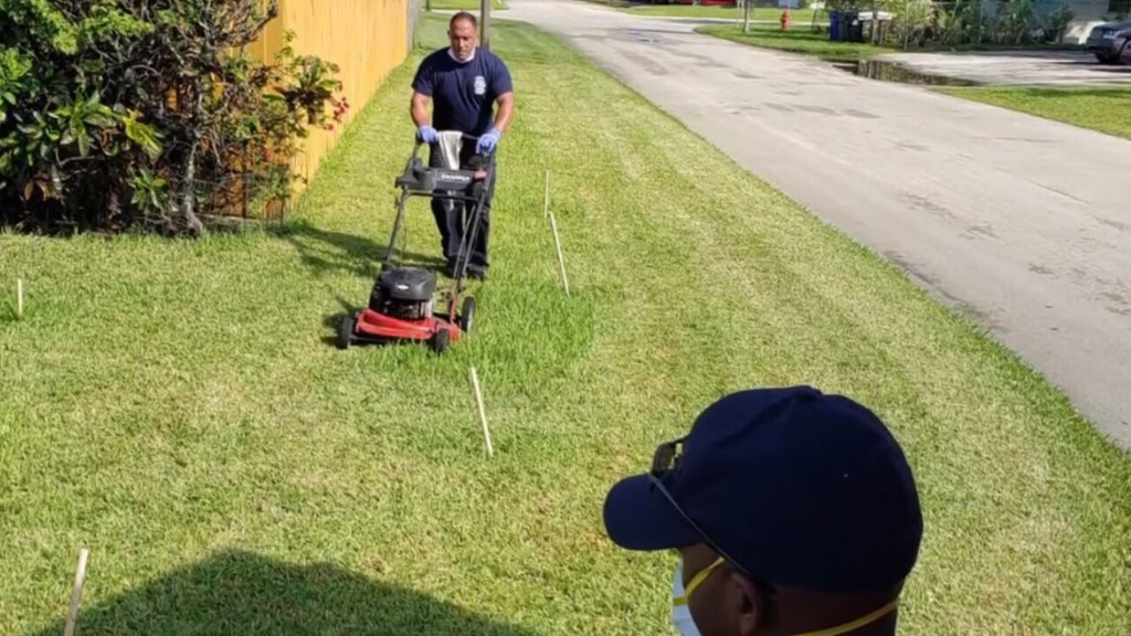 Florida first responders treat Army veteran suffering from heat exhaustion, cut his grass