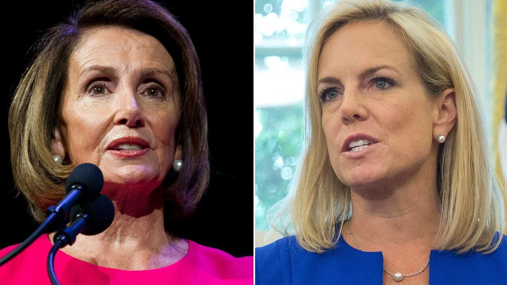 Pelosi, Nielsen clashed during border-security meeting: 'I reject your facts,' House speaker said, according to report