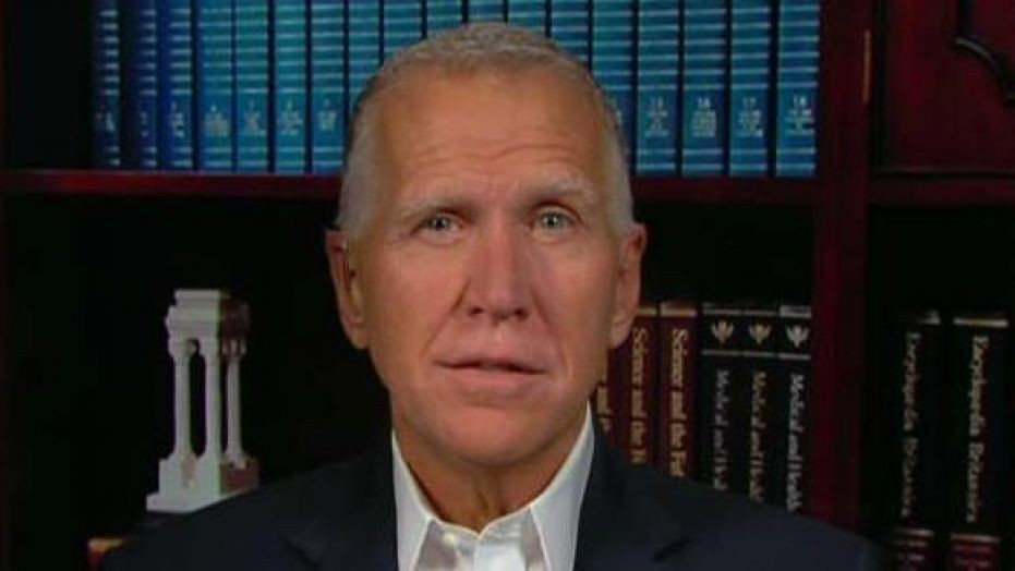 """""""Cal Cunningham Will Say Anything To Get Elected"""" Sen. Thom Tillis (R-NC) Slams Dem Opponent For Being 'Hesitant' To Take COVID Vaccine"""