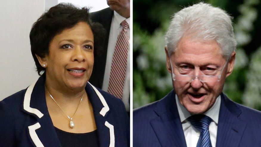 Under fire after secret meeting, Lynch to step back from Clinton probe