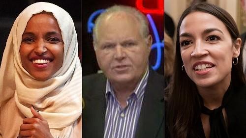 Rush Limbaugh: I hope AOC, Ilhan Omar and other 'wacko' Democrats keep talking